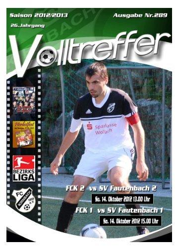 SV Fautenbach-Neuzugänge 2012/2013 - FC Kirnbach 1956 eV