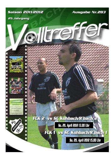 Vordere Reihe von links - FC Kirnbach 1956 eV
