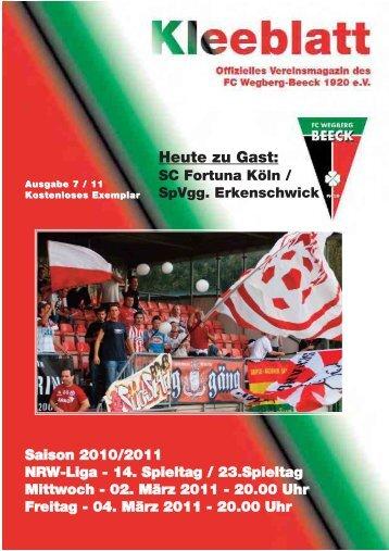 Ausgabe 7.11 Saison 2010 - 2011:Layout 1.qxd - FC Wegberg ...