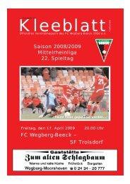 Ausgabe 12.qxd - FC Wegberg-Beeck 1920 e.V.