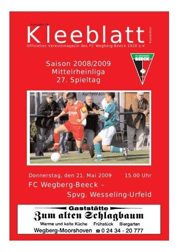 Ausgabe 14.qxd - FC Wegberg-Beeck 1920 e.V.