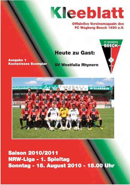 Ausgabe 1 Saison 2010 - 2011:Layout 1.qxd - FC Wegberg-Beeck ...