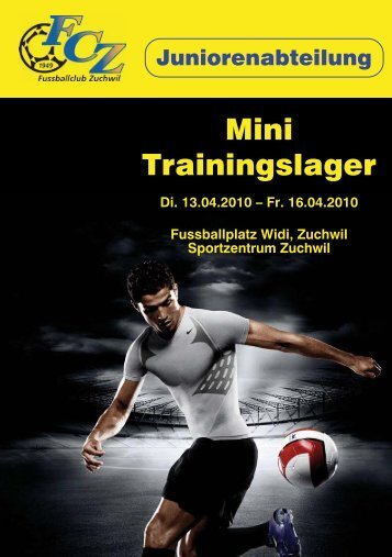 Mini Trainingslager - FC Zuchwil