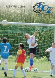 FCZ-INFO 2/2011 - FC Zuchwil