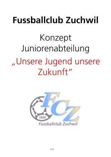 Juniorenkonzept - FC Zuchwil