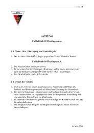 FC 09 Überlingen e.V. SATZUNG-neu Stand 30.3.2013