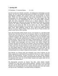 Nordstern - FCA 2:1 - FC Amicitia Riehen