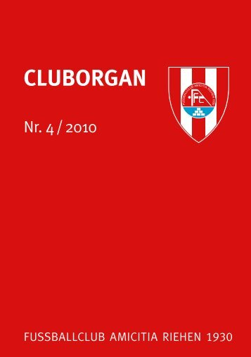 CLUBORGAN - FC Amicitia Riehen