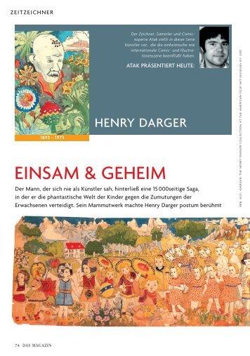 EINSAM & GEHEIM - ATAK