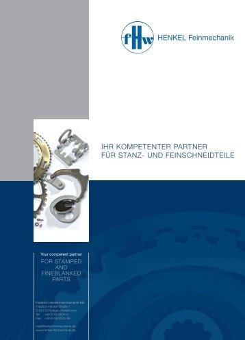 Friedrich Henkel Feinmechanik KG