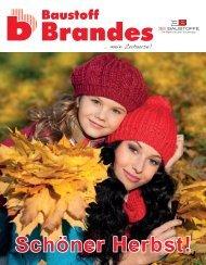 Schöner Herbst! - Baustoff Brandes