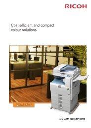 Ricoh Aficio MP C2530 Brochure