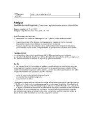 Analyse - FCC-FAC