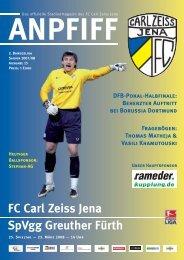 FC Carl Zeiss Jena SpVgg Greuther Fürth