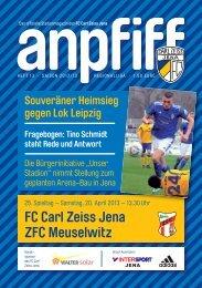 FC Carl Zeiss Jena ZFC Meuselwitz