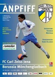FC Carl Zeiss Jena Borussia Mönchengladbach - FCC-Wiki