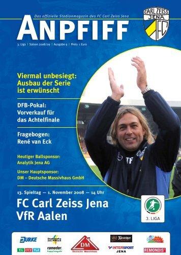 FC Carl Zeiss Jena VfR Aalen
