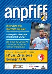 FC Carl Zeiss Jena Berliner AK 07
