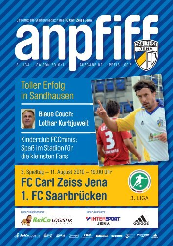 FC Carl Zeiss Jena 1. FC Saarbrücken