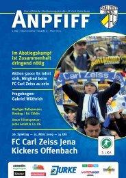 FC Carl Zeiss Jena Kickers Offenbach