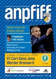 FC Carl Zeiss Jena Werder Bremen II