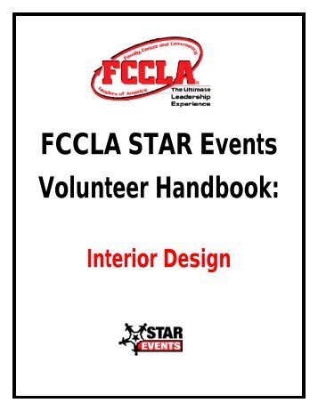FCCLA STAR Events Volunteer Handbook