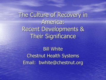 Presentation Slides - Florida Council for Community Mental Health