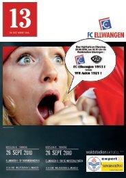 26. sept. 2010 26. sept. 2010 - FC Ellwangen 1913
