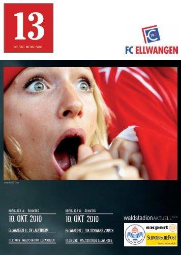 10. oKt. 2010 10. oKt. 2010 - FC Ellwangen 1913
