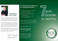 7gute Gründe - FCG-GPA-DJP