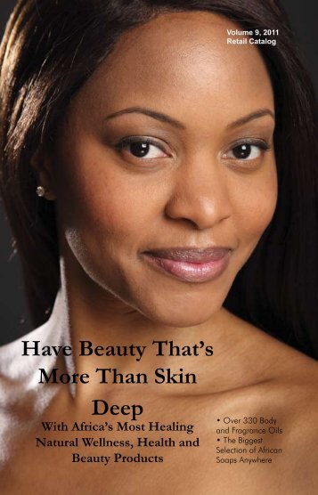 Have Beauty That's More Than Skin Deep - Click on the items below ...