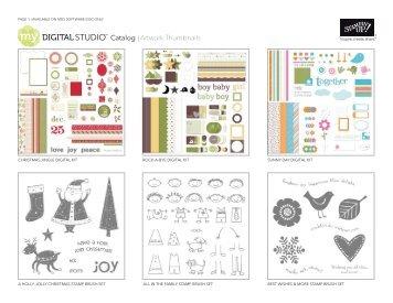 Catalog | Artwork Thumbnails