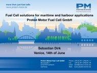 Proton Motor Fuel Cell GmbH - FCH JU
