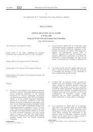 Council Regulation (EC) No 521/2008 of 30 May 2008 ... - FCH JU