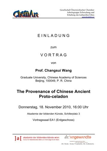 The Provenance of Chinese Ancient Proto-celadon