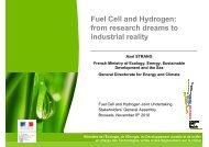 from research dreams to industrial reality - FCH JU