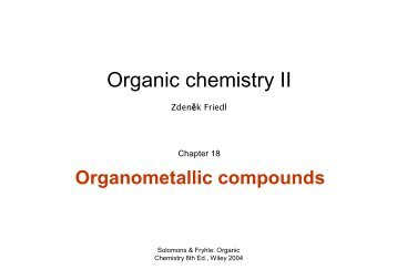 W18 Organometallic comp