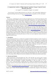 A Computational Analysis of Multi-temporal Vegetation Changes ...