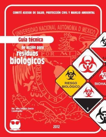 Guía técnica de acción para residuos biológicos - Facultad de ...