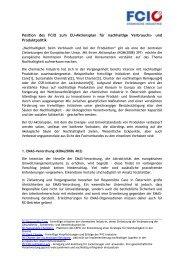 REACH – Erste Registrierungsphase abgeschlossen, keine ... - FCiO