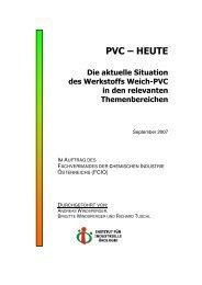 Weich-PVC - FCIO - Fachverband der Chemischen Industrie