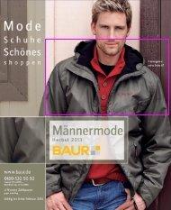 Baur - Männermode Herbst 2013