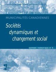 Sociétés dynamiques et changement social - FCM