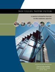 Nos Villes, Notre Futur - La question du déséquilibre fiscal ... - FCM