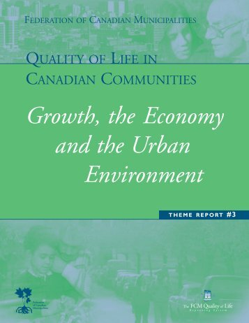 Growth, the Economy and the Urban Environment - FCM