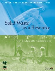 Solid Waste as a Resource: Overview - FCM