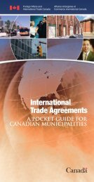 International Trade Agreements - A Pocket Guide for ... - FCM