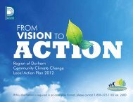 Region of Durham Community Climate Change Local Action Plan ...