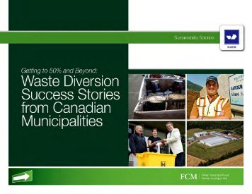 Waste Diversion Success Stories from Canadian ... - FCM