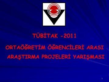 TÜBİTAK PROJE YARIŞMASI - Büyük Selçuklu Anadolu Lisesi